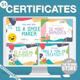 Class Awards / All Year Certificates (English & Spanish)