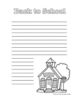 All Year Creative Writing Journal Pages and Prompts