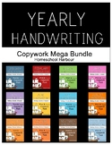 All Year Handwriting Copywork Mega Bundle
