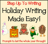 Holiday Writing Prompts and Planning Pages (Step Up To Writing)