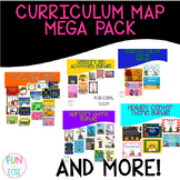 Curriculum Map Activities Mega Pack for ECSE and Preschool