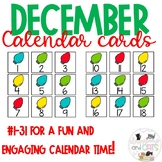 All Year Long Calendar Cards December