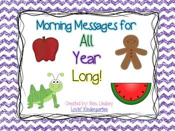 Morning Message All Year Long! - {Bundle of a Year's Worth of Morning Messages}