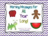 Morning Message All Year Long! - {Bundle of a Year's Worth