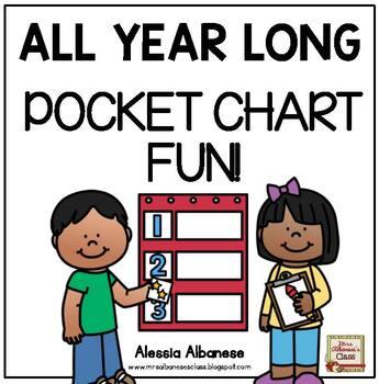 All Year Long - Pocket Chart Fun!