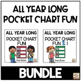 All Year Long Pocket Chart Fun - BUNDLE!