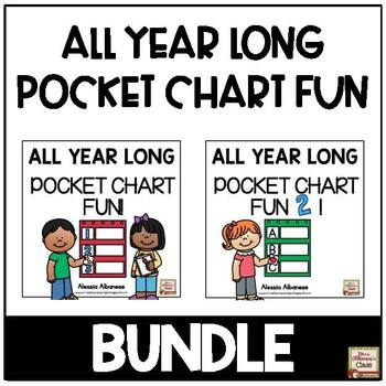 All Year Long Pocket Chart Fun - BUNDLE!