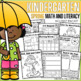 All Year Math and Literacy NO PREP The BUNDLE (Kindergarten)