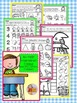 All Year Math and Literacy Printable NO PREP Preview FREEBIE Kindergarten