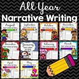 All Year Narrative Writing Bundle