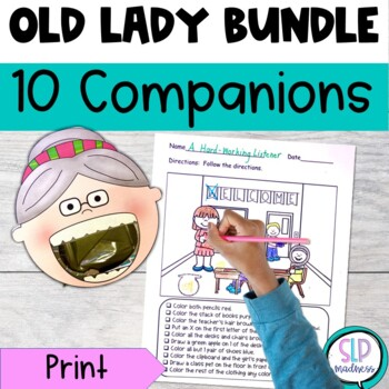 All Year Round with There Was an Old Lady Who Swallowed Bundle 113 pages!