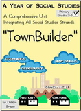 "2nd Grade, 3rd Grade Social Studies: All Year ""TownBuilder!"""