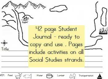 "2nd Grade, 3rd Grade Social Studies: All Year ""TownBuilder!"""