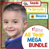 All Year Speech Therapy Activities for EI, PreK and Kinder