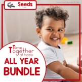 All Year Speech Language Therapy Activities Early Intervention Growing Bundle
