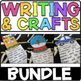 All Year Writing Prompts and Crafts GROWING BUNDLE | Writi