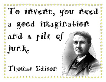 All You Need - Invention Quote