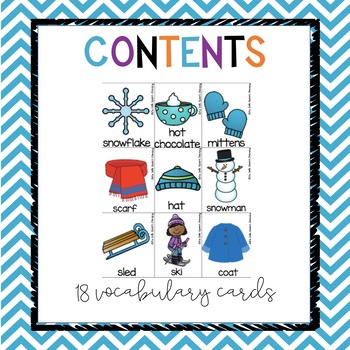 All You Need Preschool-Let's Celebrate Winter Language Unit