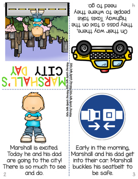 All You Need Preschool Unit for Speech Therapy-Let's Go Transportation!