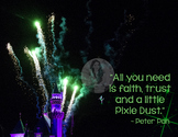 All You Need is Faith, Trust and Pixie Dust - Peter Pan Mo