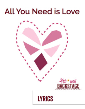 All You Need is Love - Instrumental Track