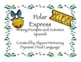 All aboard the train en español! Spanish activities for The Polar Express!