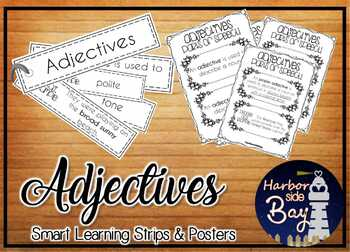 All about Adjectives