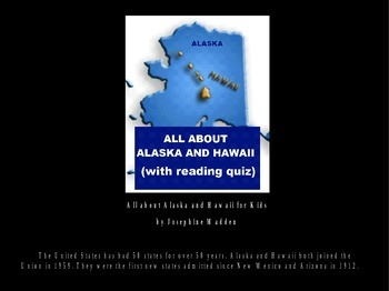 All about Alaska and Hawaii Powerpoint