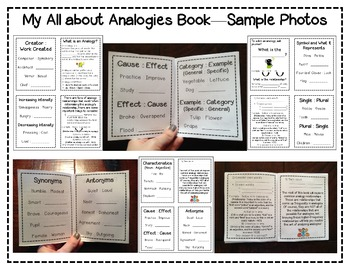 All about Analogies Pack