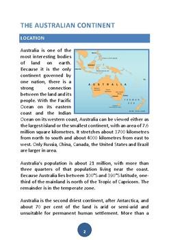 All about Australia Freebie