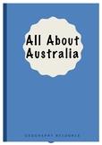 All about Australia - Full Unit