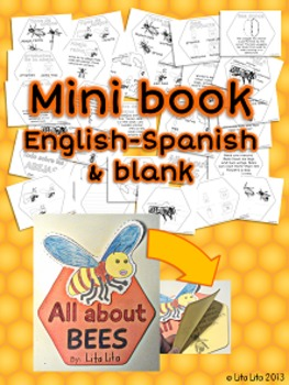 All about BEES mini-book