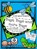 All about Bugs! {ladybugs, bees, caterpillars, ants, butterflies craftivities}