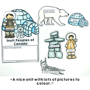 All About Canada Activity Pack maps, spinner, flip book & activities