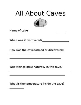 All about Caves