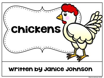 All about Chickens Reader + Chicken Lifecycle Reader