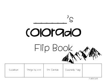 All about Colorado Flip Book