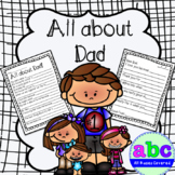 All about Dad! Write a Letter to Dad and other special stuff.