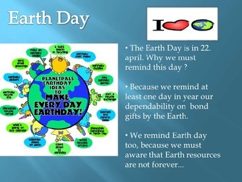 All about Earth Day