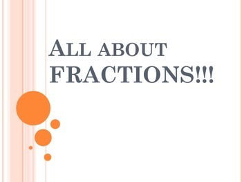 All about FRACTIONS PDF