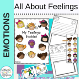 Social Skills Activities All about Feelings K-2