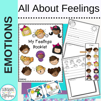 Emotions & Social Skills Activities: All about Feelings K-2