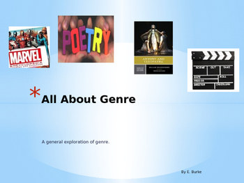 All about Genre