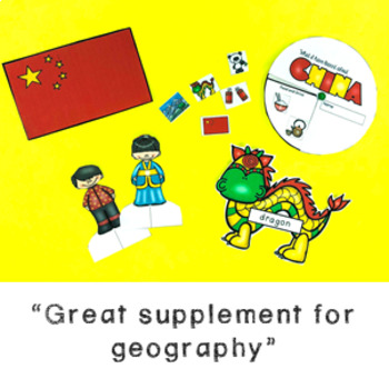 All about Geography Bundle: maps & activities on five countries! GROWING BUNDLE