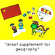 All About Geography Bundle Maps and Activities