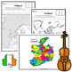 All About Ireland Activity Pack - maps, spinner, flip book