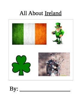 All about Ireland booklet