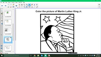 All about Martin Luther King Jr. SMARTboard activity!!!
