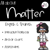 All about Matter - English & Spanish