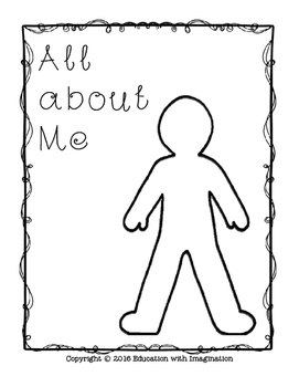 All about Me Rhyme